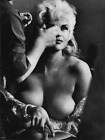 WW2 WWII Photo Hollywood Actress & Pinup Girl Jane Mansfield Makeup  / 8138