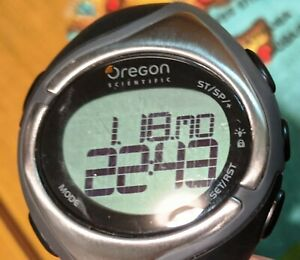 Oregon Scientific SE138 stand alone Heart Rate Monitor Watch, PDF instructions