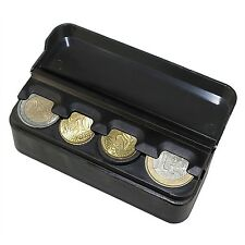 YINUO CH0001 Car Coin Holder Taxi driver coin dispenser BLACK with cover