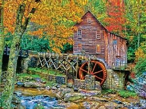 Jigsaw Puzzle National Park Glade Creek Babcock State Park 1000 pieces NEW