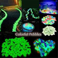 Garden Decor Luminous Stones Glow In Dark Decorative Pebbles 🤩
