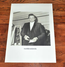 Very Rare Johnny Cash John Rowlands Rock and Rowlands Poster!