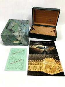Rolex Explorer 16570 watch box case  genuine booklet / 210715604