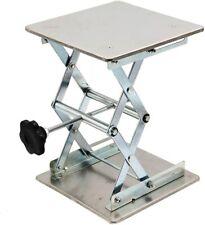 6 Stainless Steel Scissor Lift Lab Lift Platform Stand Jack Lifter