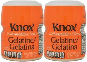 KNOX Unflavored Gelatin, 16 Oz. (Pack of 2)