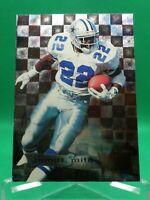 1995 Fleer Metal #53 Emmitt Smith HOF Dallas Cowboys