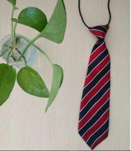 USA Children Kid Stripe Plaid Print Neck Tie For School Boys Wedding Party Tie