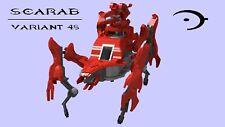 Lego Halo Type-48 Scarab LDraw and IO files - 5562 Bricks