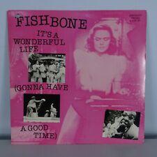 "FISHBONE It's A Wonderful Life COLUMBIA RECORDS 12"" VINYL Free UK Post"