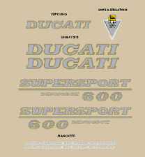 DUCATI 600 SUPER SPORT DESMODUE SERIE ADESIVI STICKERS
