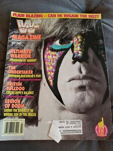 WWF Magazine July 1992 Ultimate Warrior Vintage