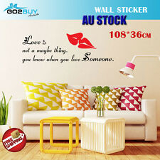 Wall Stickers Removable Love Someone Home Living Room Bedroom Decal Picture Art