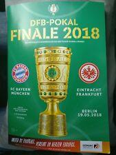 Programm DFB Pokal Finale 19.05.2018 Bayern München Eintracht Frankfurt FCB SGE