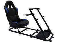 Gaming ChairSimulator Racing Seat Driving Xbox Playstation PC Flight