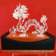 "Dragon Swarovski SCS 1997 #208 398 Fabulous Creatures 4"" tall NEW IN BOX Austria"