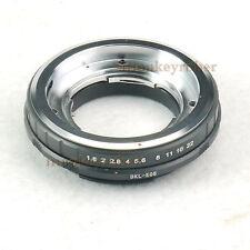 For Voigtlander Bessamatic Retina DKL Lens To Canon EOS  Camera Adapter