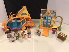 Dora the Explorer Talking Vamonos Van, Greenhouse Mom,Boots, Dora, Swiper, Diego