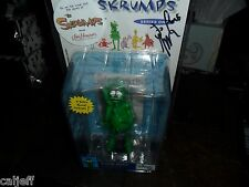 Rare Jim Henson label version 2004 Skrumps WORRIED WILLIE Figure Signed chandler