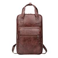 Drumsticks Drum Stick Bag / Case PU Leather for Drum Parts Accessories Brown