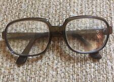 Vintage Viennaline 5374 54▫�20 145 Amber Brown Eyeglasses Frame Made In Canada