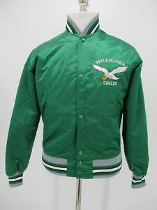 M0472 VTG Starter Philadelphia Eagles Football-NFL Varsity Jacket Made in USA S