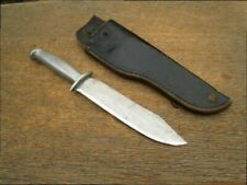 NICE Vietnam War Era Theater Made Carbon Steel Bowie Fighting Knife - RAZOR KEEN