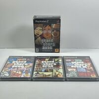 Grand Theft Auto: The Trilogy - PS2 - BRAND NEW Sealed Games PlayStation 2 GTA