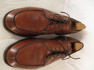Allen Edmonds Stockbridge Mens Tan Oxford Dress Shoes 8-3E