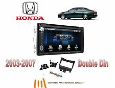 NEW 2003-2007 HONDA ACCORD BLUE TOOTH TOUCHSCREEN CAR STEREO COMBO DVD USB