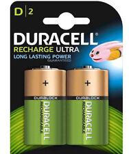 Pila ricaricabile Torcia DURACELL D 3000 mAh/1,2V  2 Batteria Ultra HR20