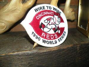 CINCINNATI REDS 1990 world series patch  Davis Morris Sabo
