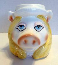 Miss Piggy Coffee Tea Cup Mug Sigma TasteSetter Figural Jim Henson Muppets