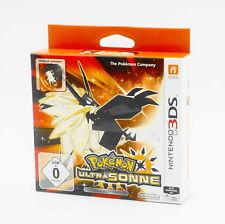 POKEMON Ultra soleil Fan-Edition pour Nintendo 3 DS NOUVEAU & NEUF dans sa boîte allemande USK version