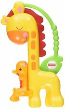 Fisher-Price Giraffe Slider Baby Toddler Animal Rattle Toy Activity Shaker CGR92