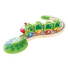 Hape E3818 Caterpillar Train Set Plastique chemin de fer en bois Inc 7 pcs Age 1...
