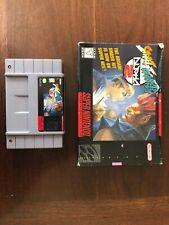 Street Fighter Alpha 2 - SNES Super Nintendo Entertainment System - NO INSERTS