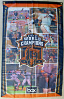 New 2012 WORLD SERIES CHAMPIONS SAN FRANCISCO GIANTS FLAG 5x3 SGA Tim Lincecum