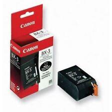 Canon BX-3 GENUINE black cartridge sealed rrp $64.99+