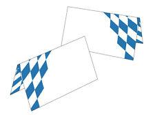 25 Tischkarten Bayern Raute Namenskarten Geschenkanhänger Oktoberfest bayrisch