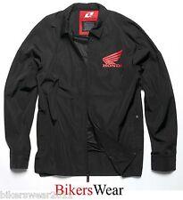 Honda Casual Jacket One Industries Linden Windbreaker Black - Honda Jacket