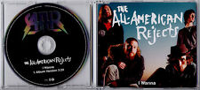 THE ALL-AMERICAN REJECTS I Wanna 2009 UK 1-track promo CD