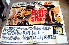 The George Raft Story 6sh movie poster 81x81 JAYNE MANSFIELD Julie London 1961