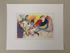 KANDINSKY, 'AQUARELLE SANS TITRE' RARE 1994 ART PRINT