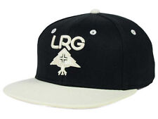 "RETRO LRG ""Research Group"" Snapback Cap (Black/White) One Size Fits All - NEW"