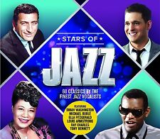 STARS OF JAZZ feat. MICHAEL BUBLÉ, RAY CHARLES, PEGGY LEE, DEAN MARTIN 3 CD NEU