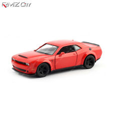 RMZ City Diecast Vehicles Dodge Challenger SRT Demon 2018 Red Toy Cars 1:32