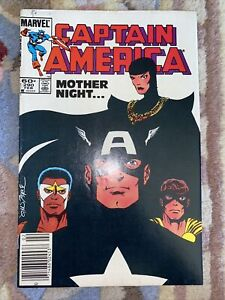 Captain America 290 February 1984 1st Sin/ Mother Superior Marvel Key Baron Zemo