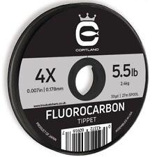 Cortland Fluorocarbon Tippet - 3.1lb - 6X - 30 yard (27mtr)