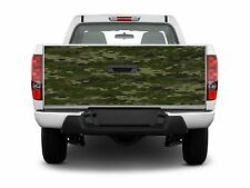 Boat Car Truck Bed Tailgate Hunting Deer Graphics Decal wrap Stickers army camo