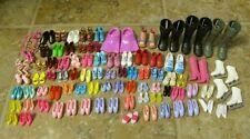 Mixed Lot 80+ Pairs Mattel Barbie Ken Doll Shoes Sneakers Heels Boots Ballet Etc